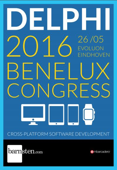Delphi Benelux 2016 Congress