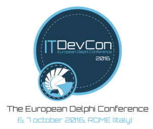 ITDevCon 2016 - Rome, Italy