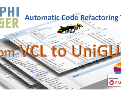 Quickly Convert Classic Delphi VCL to Modern UniGUI Web Based Application!