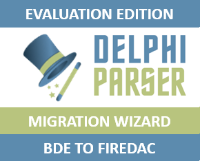 Delphi Parser Migration Wizard v1.96