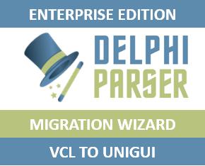 VCL to UniGUI Migration Wizard - Enterprise Edition - 5M Unexpired