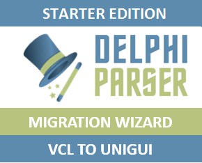 The Delphi Parser - Looking for VCL to UniGUI Converter?