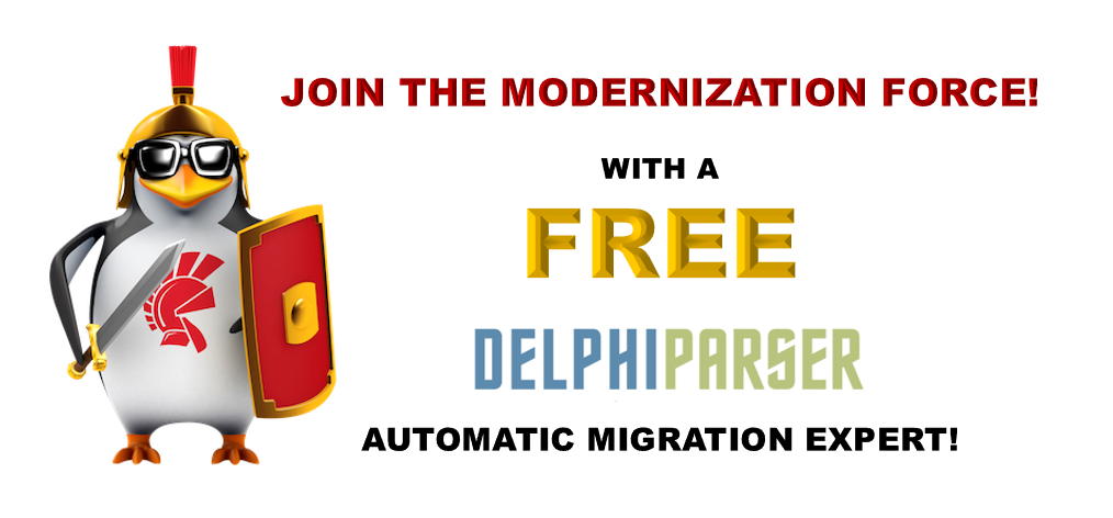 The Delphi Parser - Join The Modernization Force!