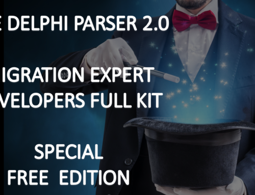 DELPHI PARSER 2.0 – SPECIAL FREE 10.4 SYDNEY SDK MIGRATION EXPERT – DEVELOPERS FULL KIT