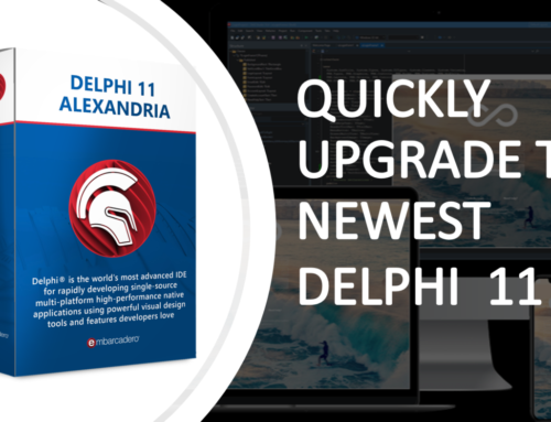 QUICKLY UPGRADE TO NEWEST DELPHI 11
